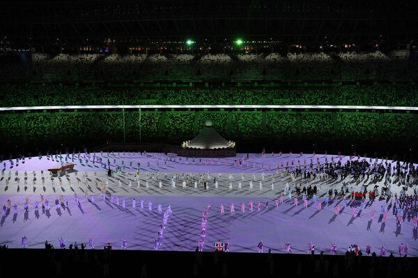 Gli atleti alla cerimonia inaugurale dei Giochi Olimpici. - Sputnik Italia