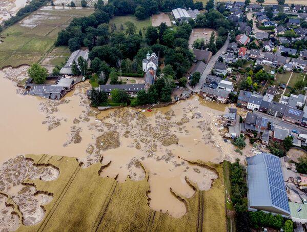 Le inondazioni mortali nella Germania occidentale hanno provocato conseguenze nefaste. - Sputnik Italia