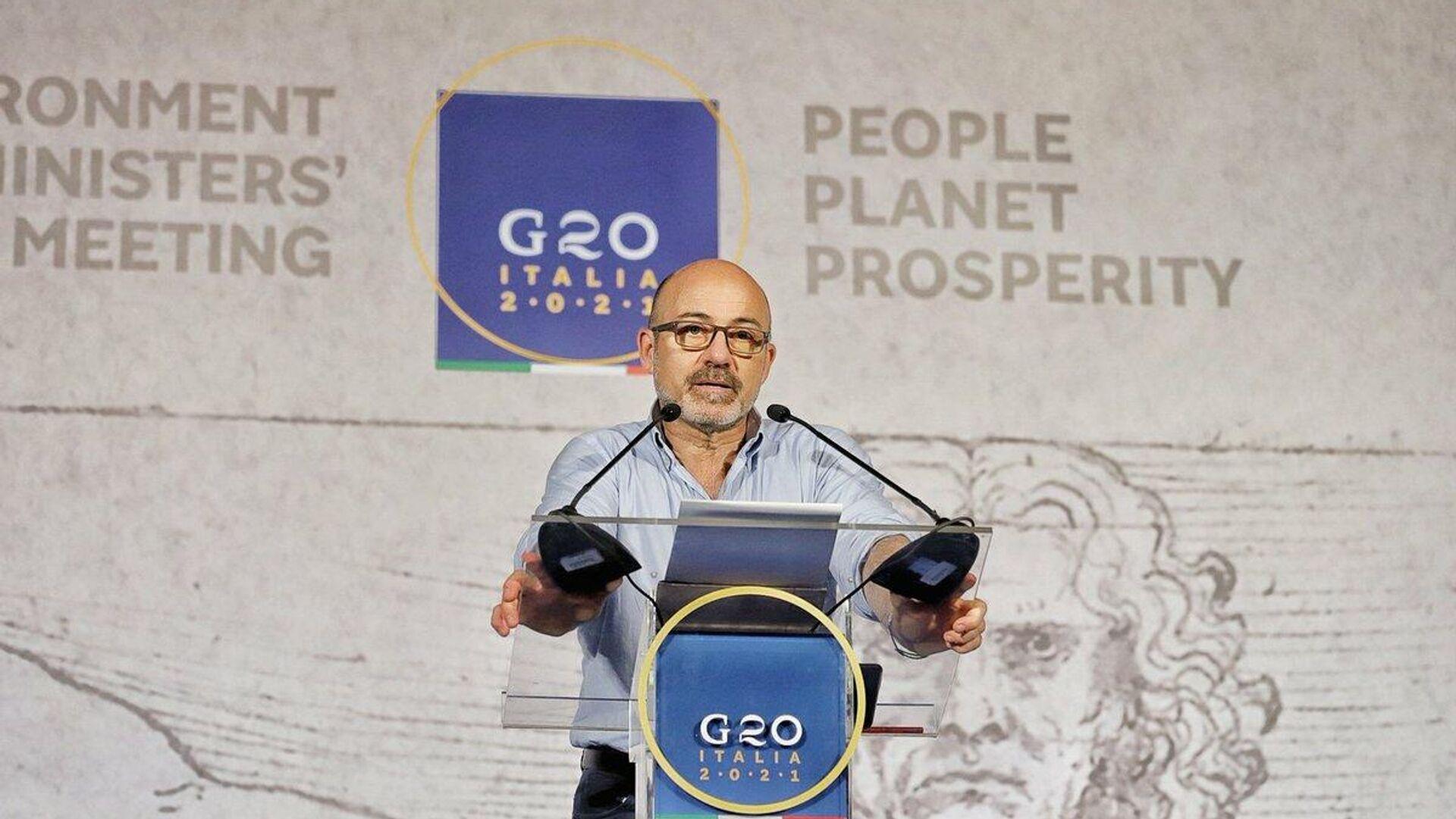 Roberto Cingolani, ministro della Transizione ecologica - Sputnik Italia, 1920, 28.07.2021