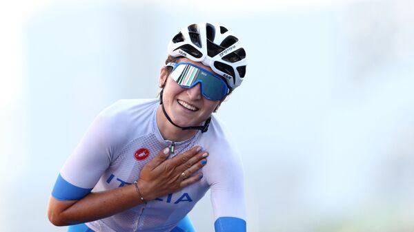 Итальянская велосипедистка Элиза Лонго Боргини - Sputnik Italia