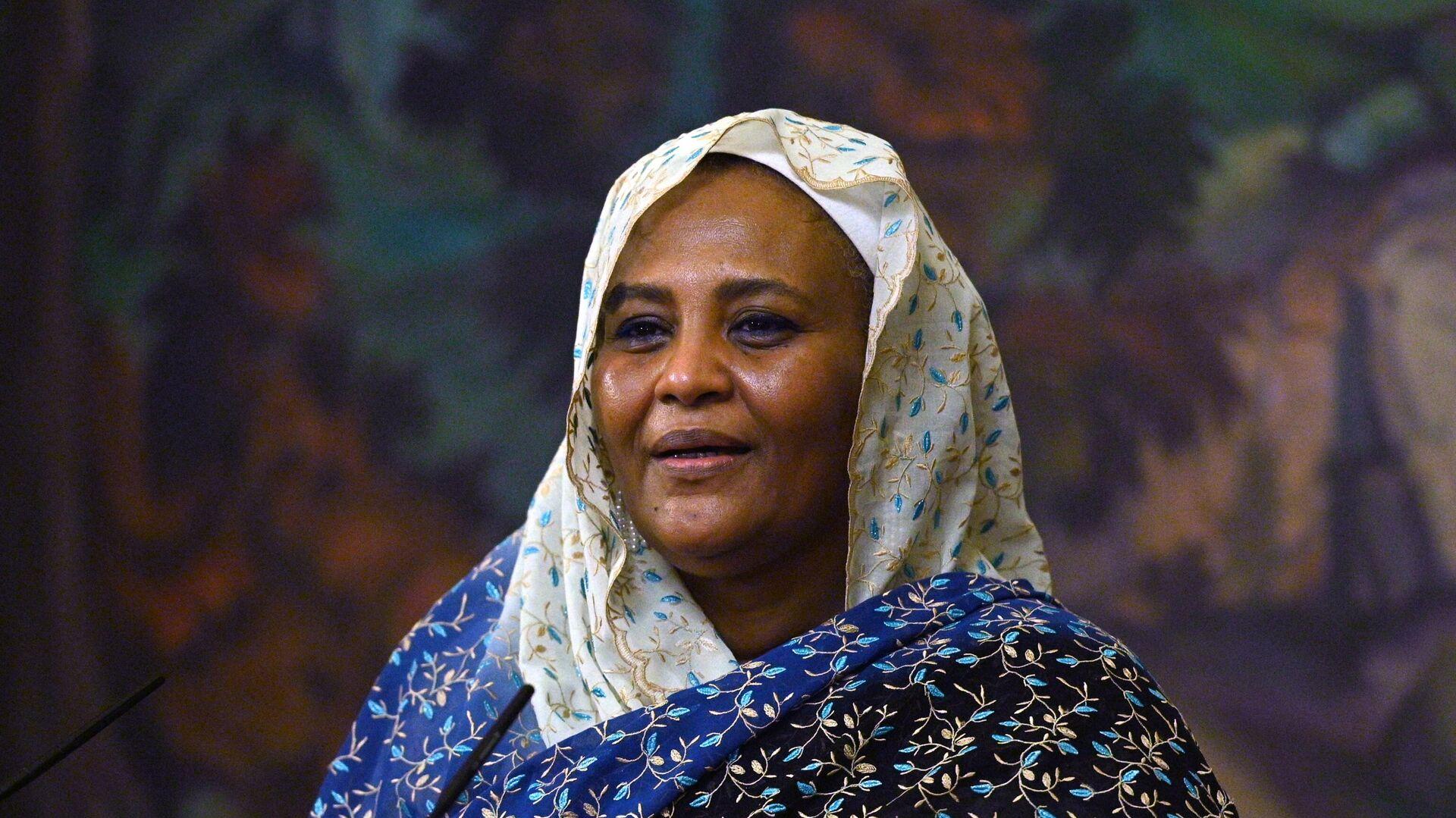 Mariam al-Mahdi, ministra degli Esteri del Sudan - Sputnik Italia, 1920, 26.07.2021