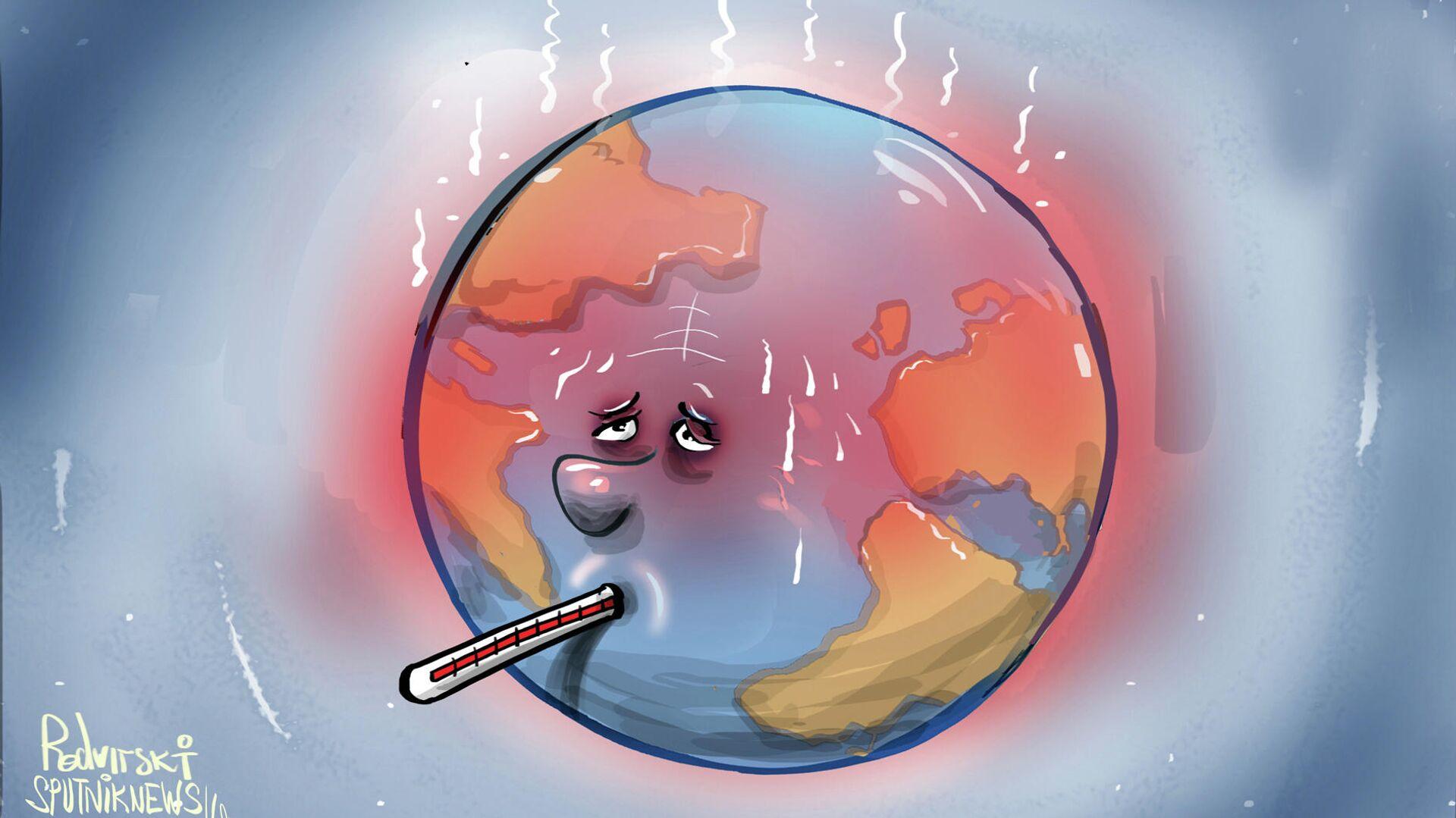 Il pianeta ha la febbre  - Sputnik Italia, 1920, 28.07.2021