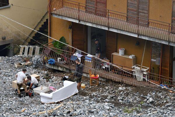 Secondo la Coldiretti, fra Como e Lecco l'ondata di maltempo ha causato perdite fino al 100 per cento per i raccolti di ortaggi.  - Sputnik Italia