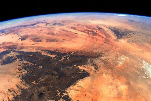 Nel tempo libero, come molti astronauti, Thomas Pesce ha guardato la Terra dalle finestre della Cupola. - Sputnik Italia