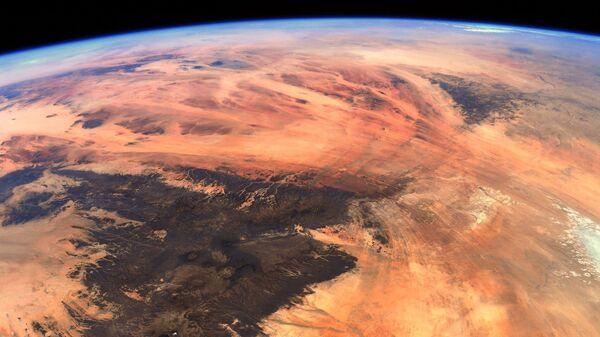 Вид из космоса на геологическое образование «Око Сахары», расположенное в Западной Африке - Sputnik Italia