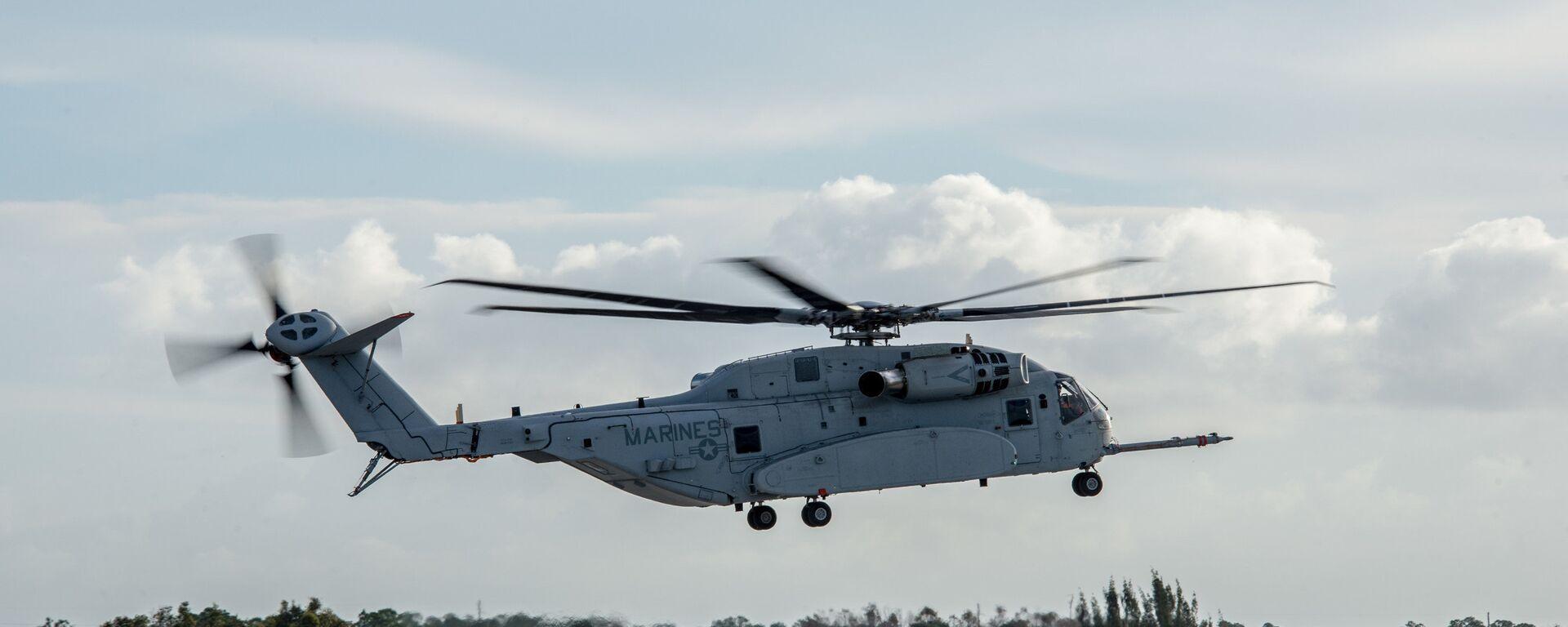 Elicottero americano Sikorsky CH-53K - Sputnik Italia, 1920, 31.07.2021