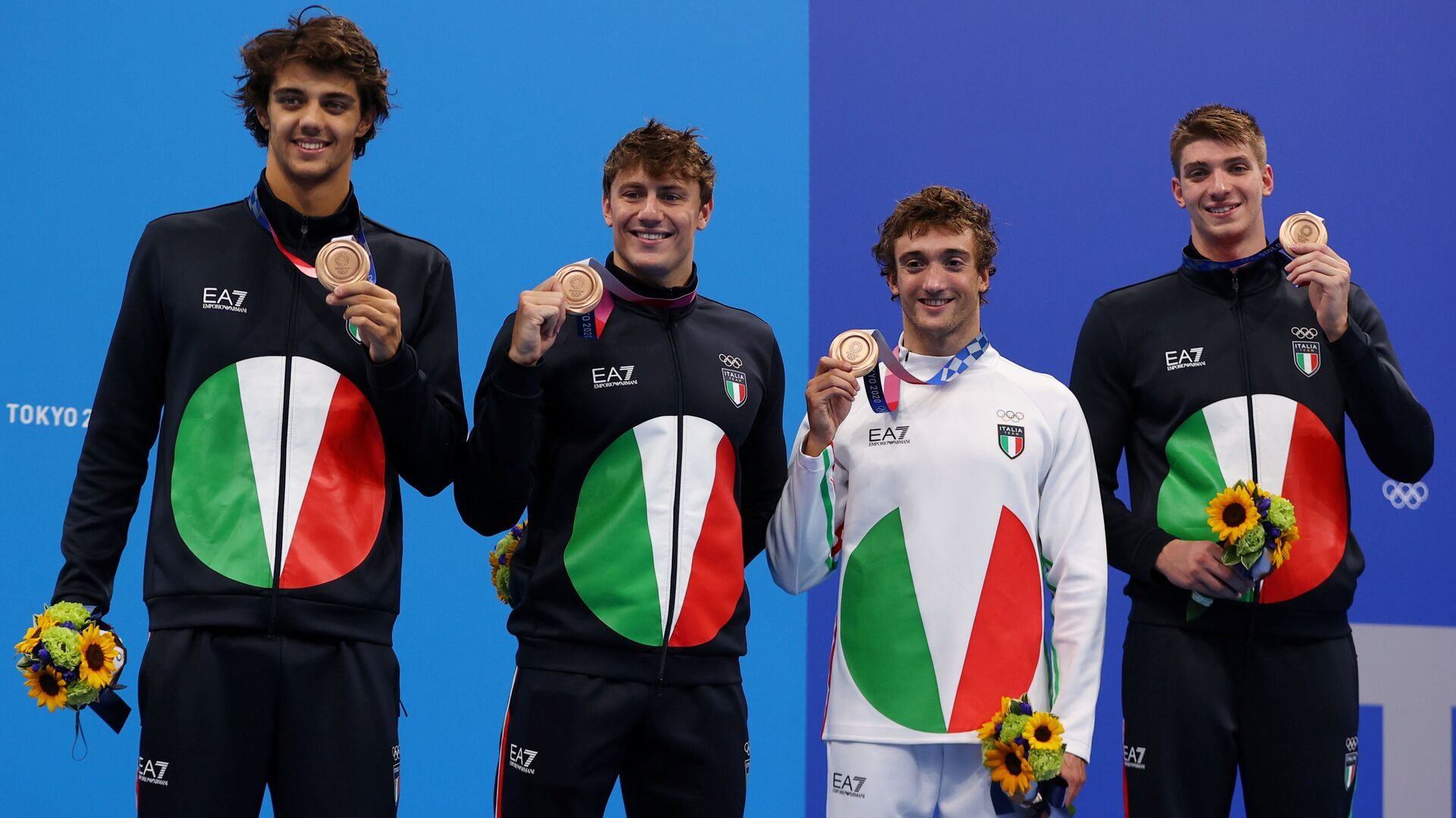 Tokyo 2020, nel nuoto 4x100 mista maschile è bronzo: storico  - Sputnik Italia, 1920, 01.08.2021