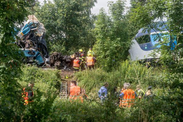 Lo scontro è avvenuto nei pressi del villaggio di Milavče, nell`ovest della Repubblica Ceca, vicino al confine con la Germania. - Sputnik Italia