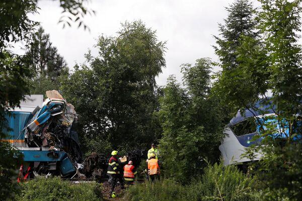 Secondo il sito web delle Ferrovie ceche, l'incidente è avvenuto intorno alle 8 del mattino. - Sputnik Italia