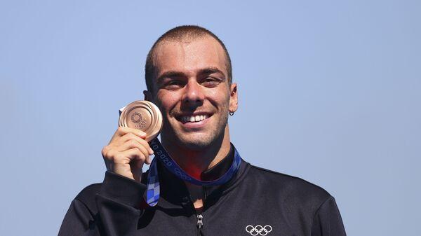 Итальянский пловец Грегорио Пальтриньери - Sputnik Italia