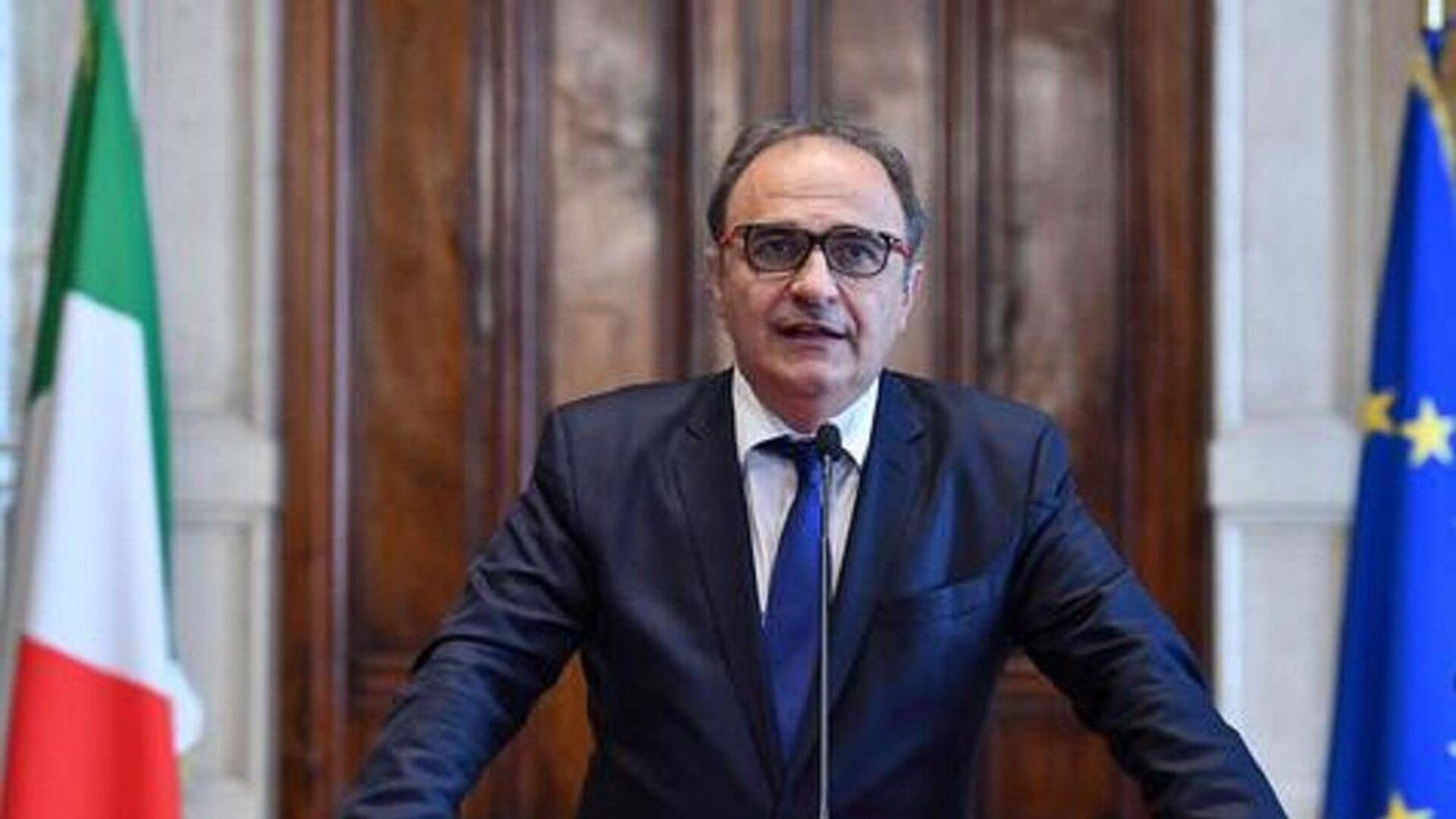 Senatore Ricardo Merlo, presidente MAIE (Movimento Associativo Italiani All'Estero) - Sputnik Italia, 1920, 05.08.2021