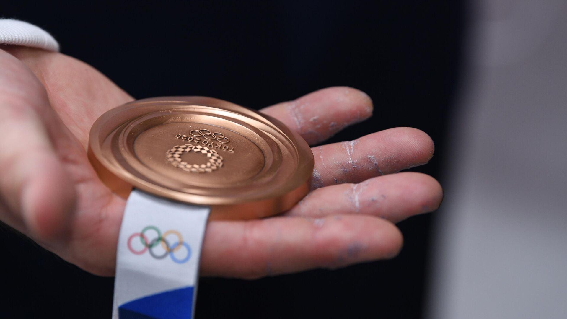 Medaglia di Bronzo, Tokyo 2020 - Sputnik Italia, 1920, 08.08.2021