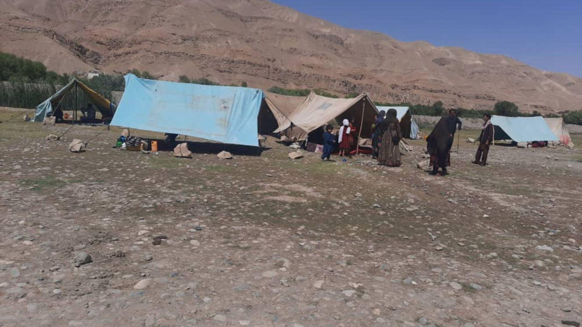 Rifugiati nella provincia afghana di Baghlan - Sputnik Italia, 1920, 14.08.2021