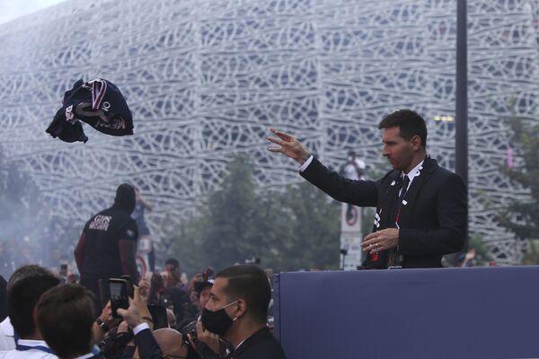 """Il calciatore argentino ha detto di essere impaziente di iniziare un """"nuovo capitolo"""" della sua vita. - Sputnik Italia"""