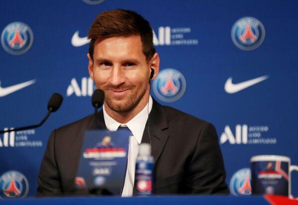 Messi aveva iniziato la sua carriera al Barcellona nel 2004, giocando nel club catalano fino alla scadenza del suo ultimo contratto, avvenuta il 30 giugno di quest'anno. - Sputnik Italia