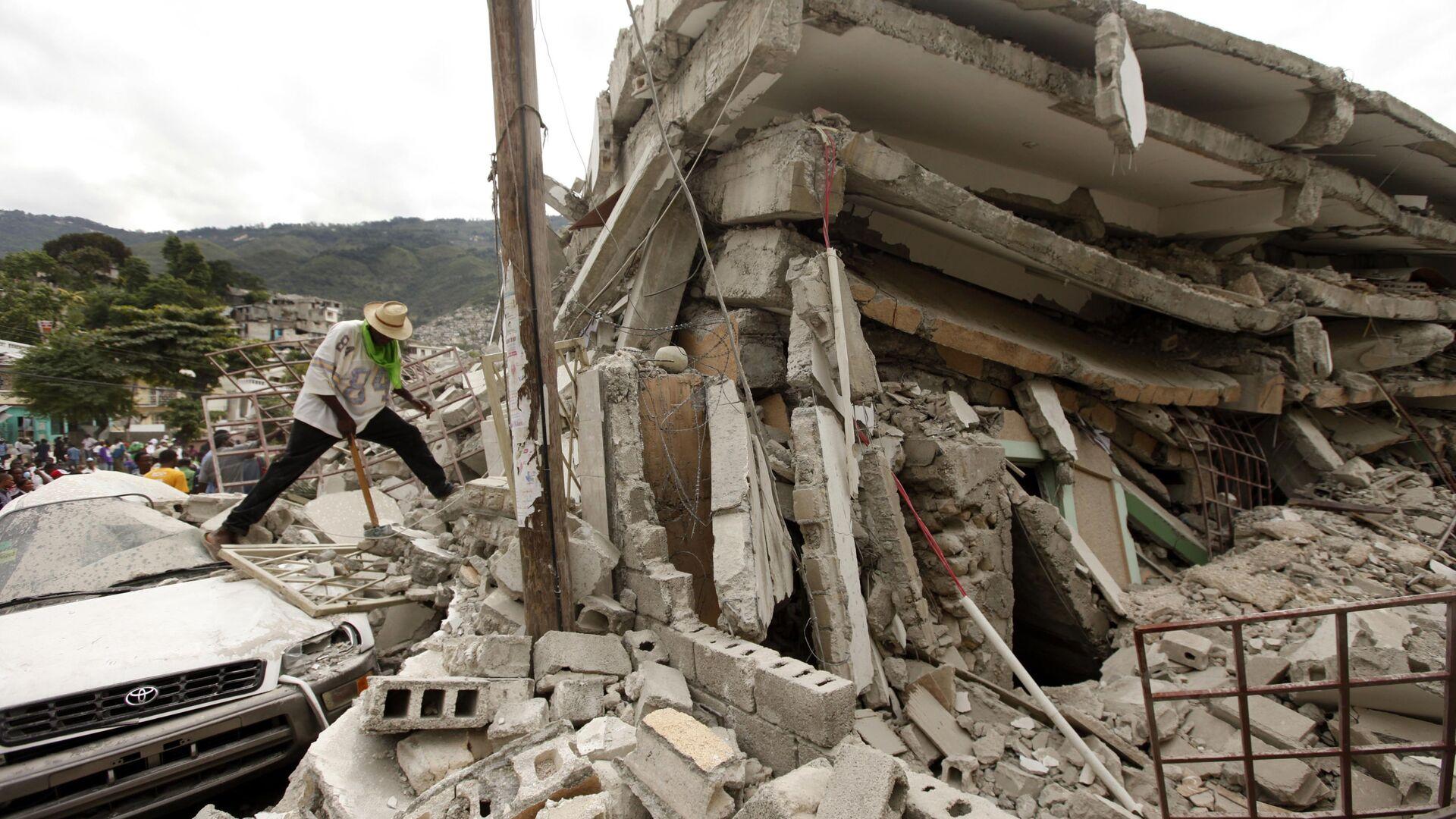 Terremoto ad Haiti - Sputnik Italia, 1920, 15.08.2021