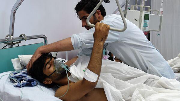 Раненый в госпитале в Кабуле  - Sputnik Italia
