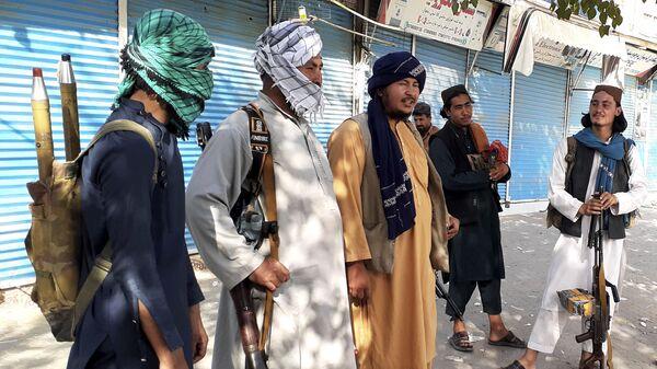 Боевики Талибана* в городе Кундуз, Афганистан - Sputnik Italia