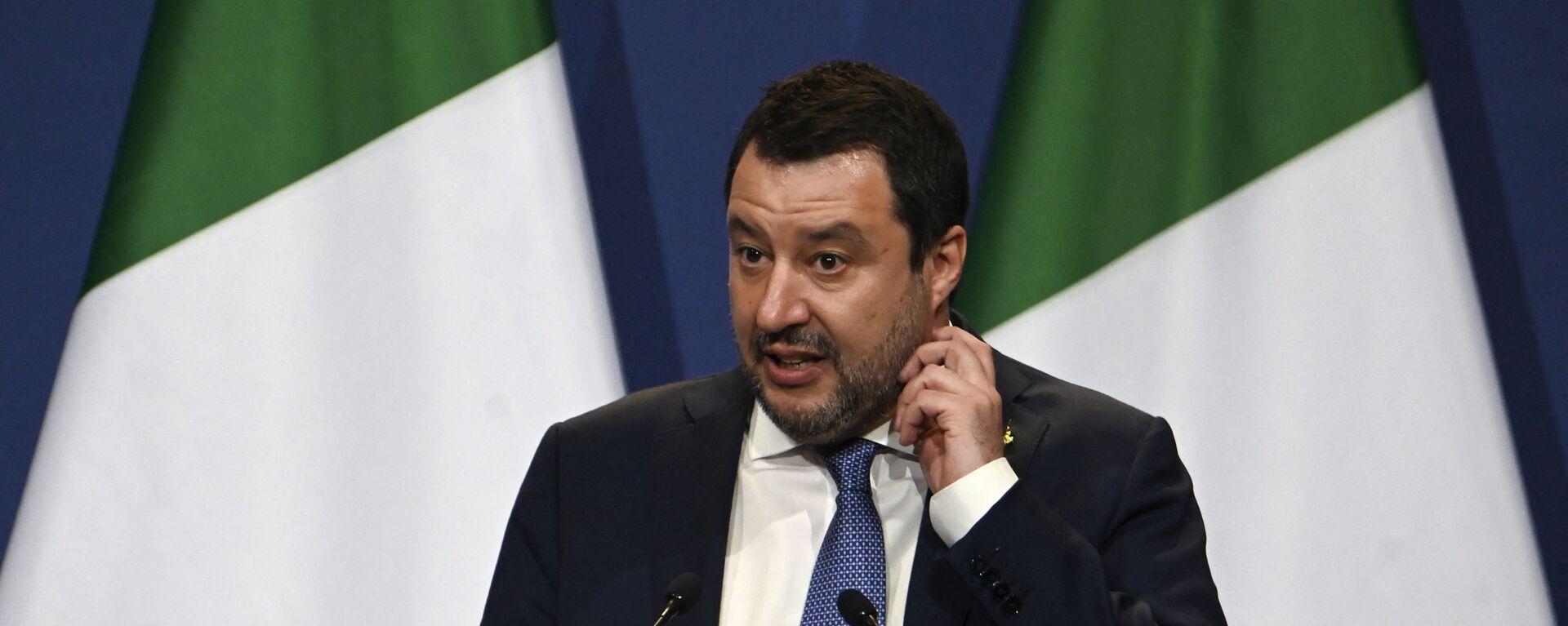 Matteo Salvini - Sputnik Italia, 1920, 03.09.2021