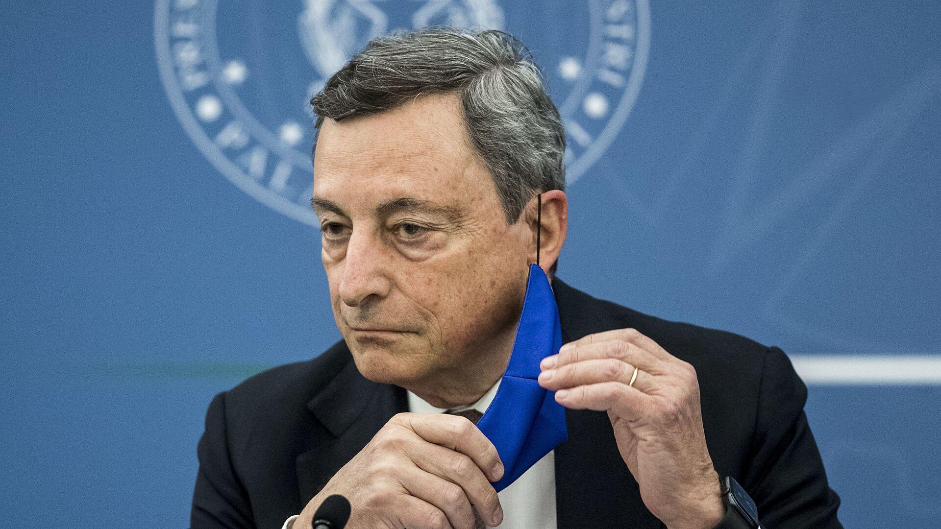 Mario Draghi a Roma - Sputnik Italia, 1920, 09.09.2021