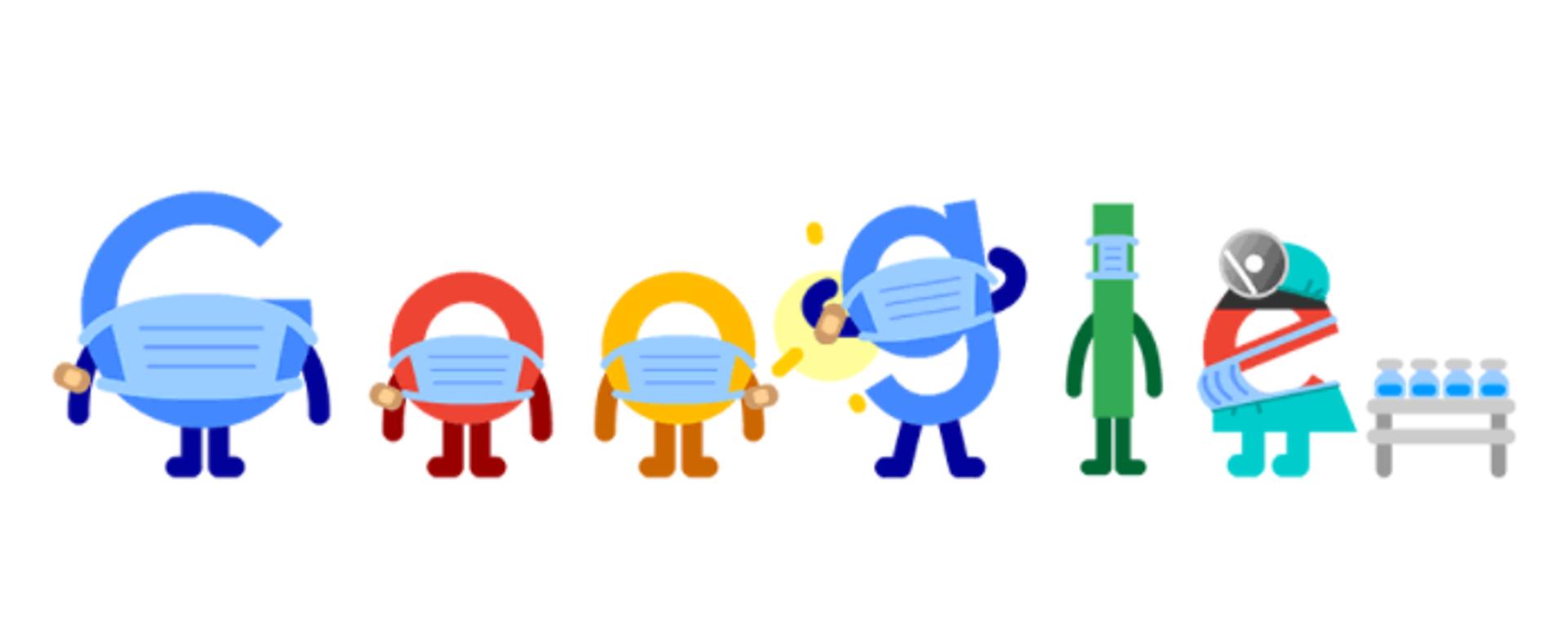 Google Doodle pro-vax - Sputnik Italia, 1920, 20.08.2021