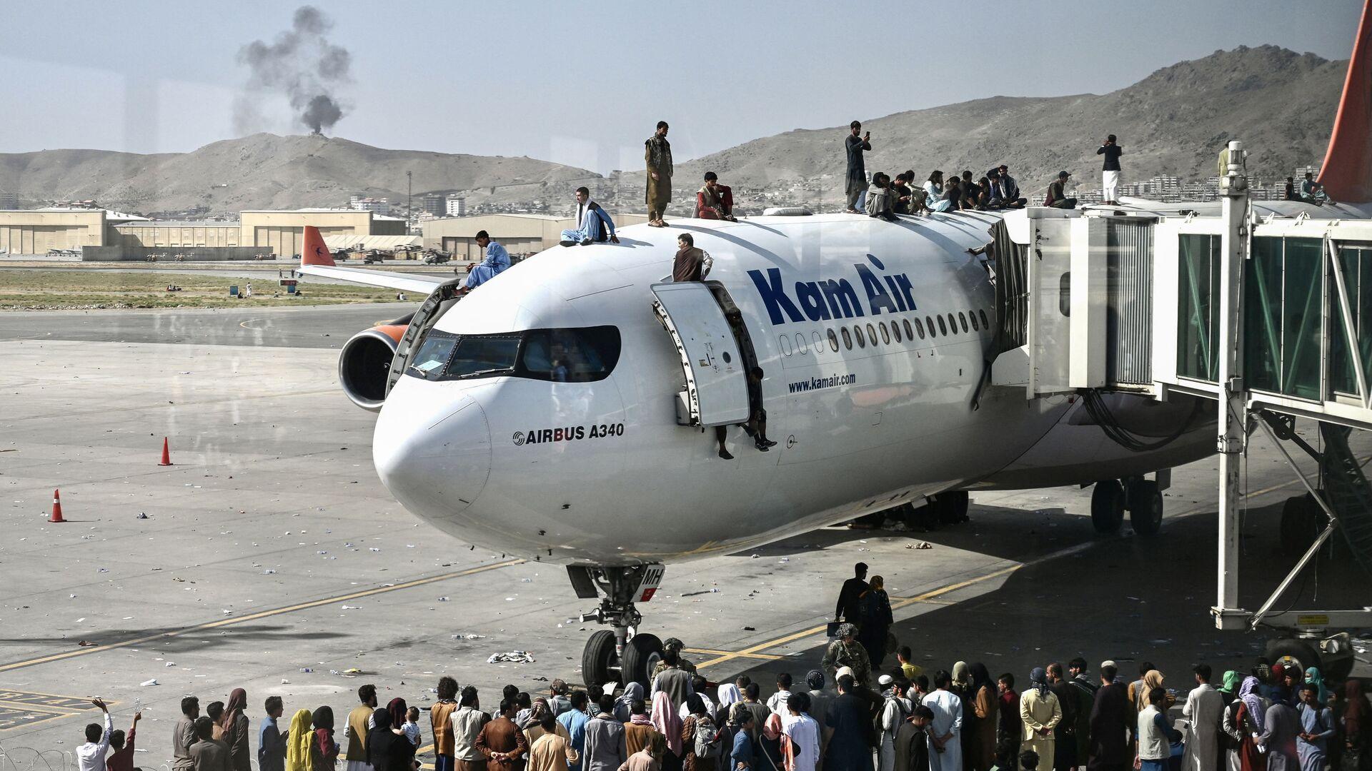 Aeroporto internazionale di Kabul  - Sputnik Italia, 1920, 26.08.2021