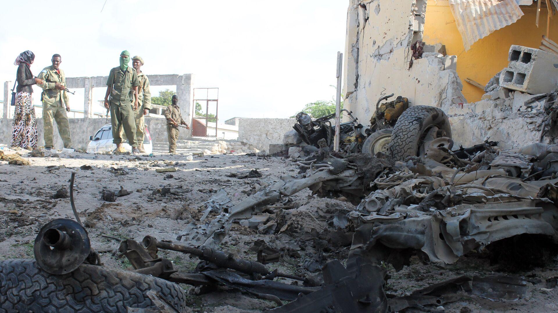 Miliziani di Al-Shabaab in Somalia - Sputnik Italia, 1920, 22.08.2021