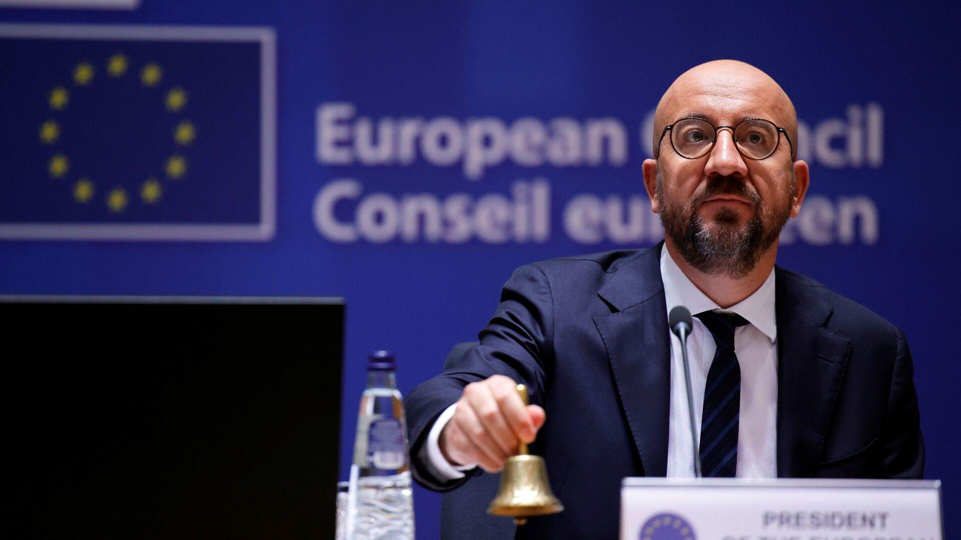 Il presidente del Consiglio UE Charles Michel - Sputnik Italia, 1920, 08.09.2021