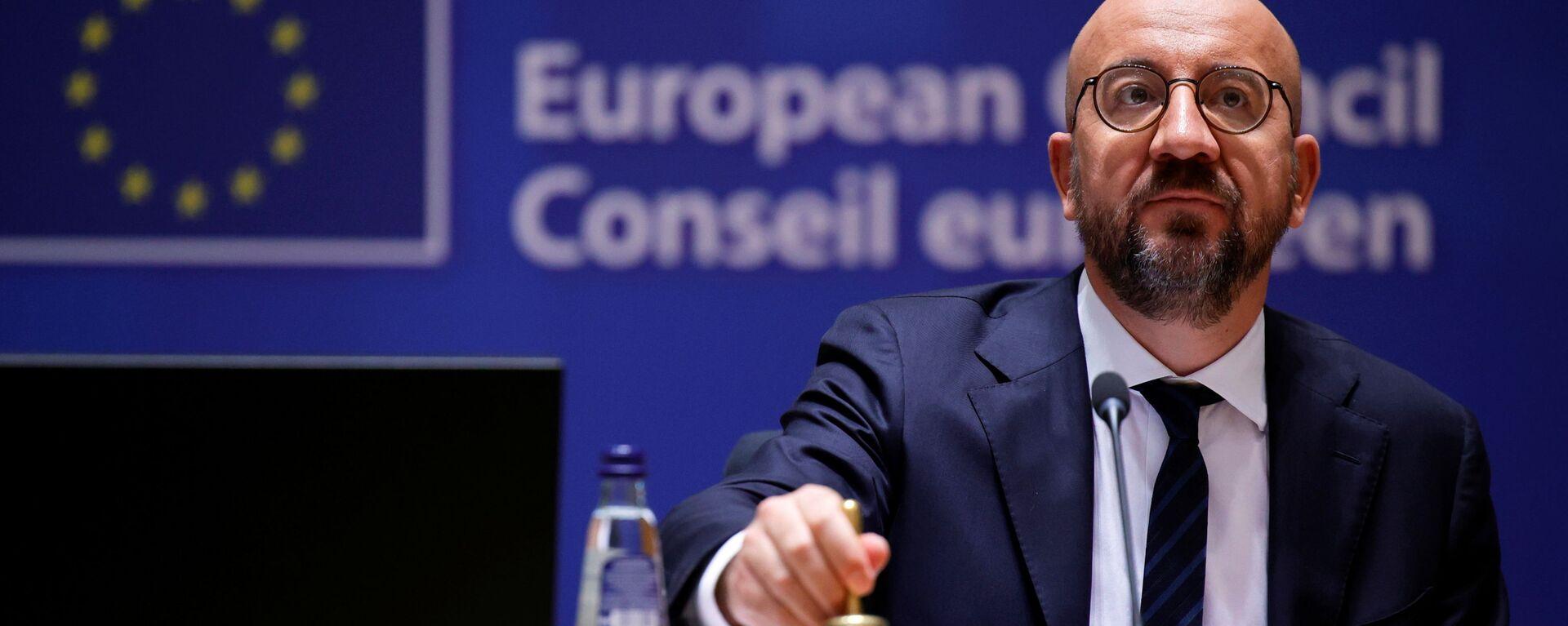 Il presidente del Consiglio UE Charles Michel - Sputnik Italia, 1920, 22.08.2021