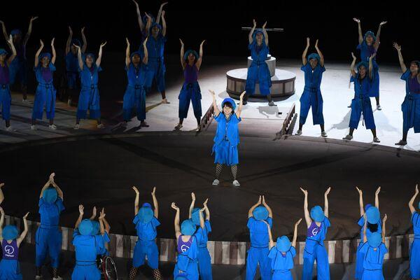 L'atleta azzurra paralimpica Beatrice Vio, scelta insieme al nuotatore Federico Morlacchi come portabandiera della nazionale paralimpica nella cerimonia di apertura dei XVI Giochi Paralimpici, ha condiviso le emozioni provate mentre sfilava con il tricolore. - Sputnik Italia