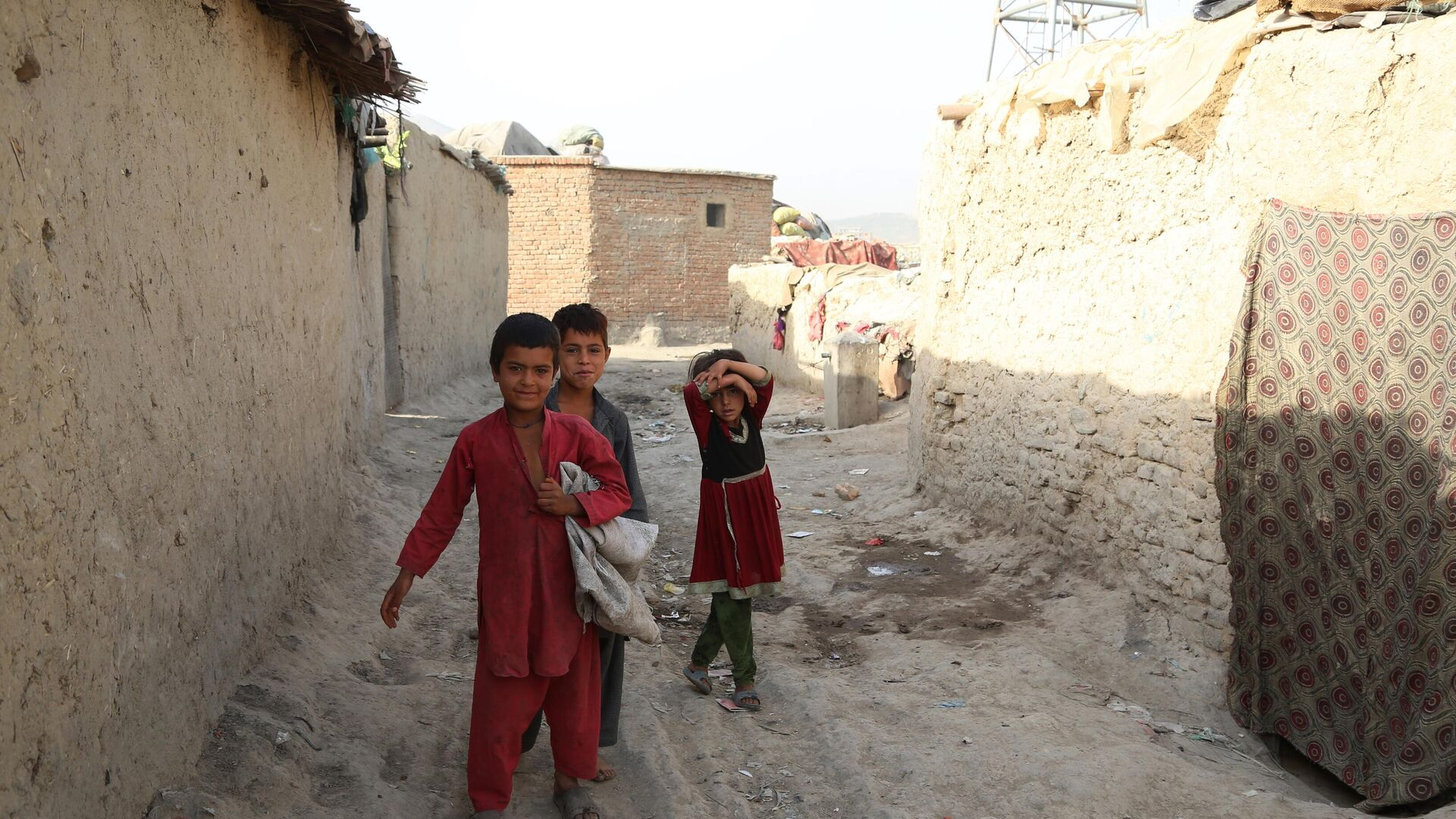 Bambini afghani, Kabul - Sputnik Italia, 1920, 25.08.2021
