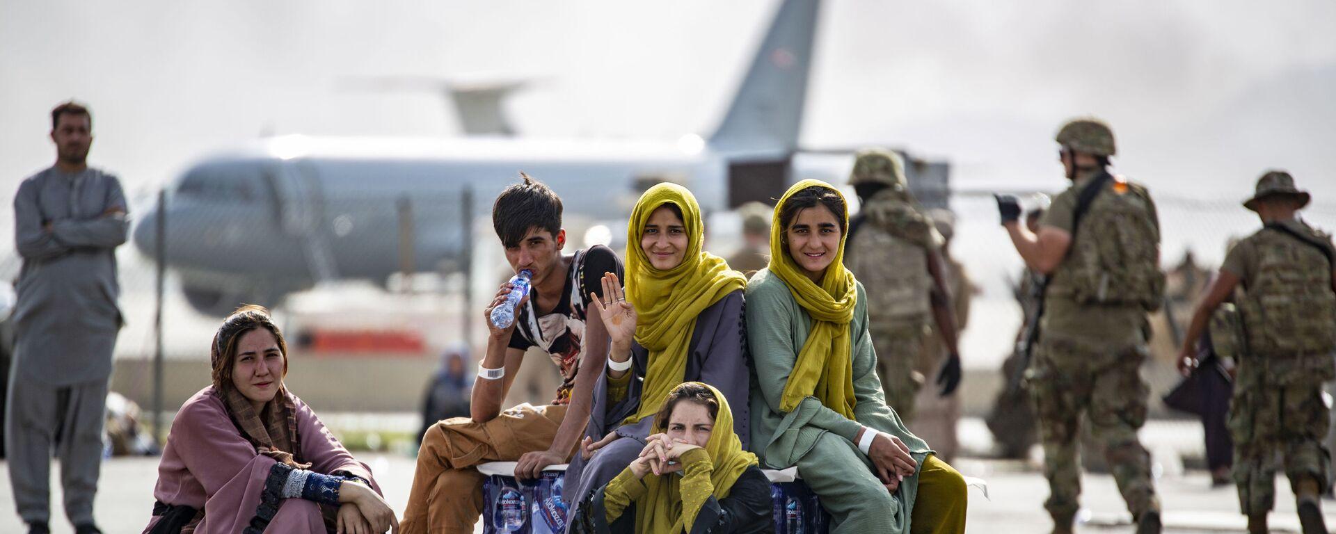 All'aeroporto di Kabul - Sputnik Italia, 1920, 26.08.2021