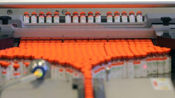 Producción de medicamentos en la planta de Geropharm - Sputnik Italia