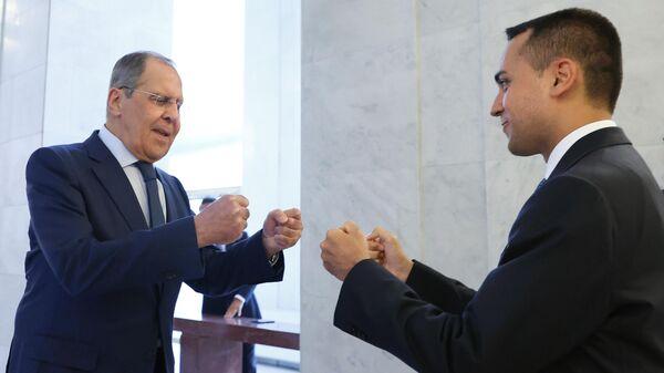 Incontro Lavrov-Di Maio - Sputnik Italia
