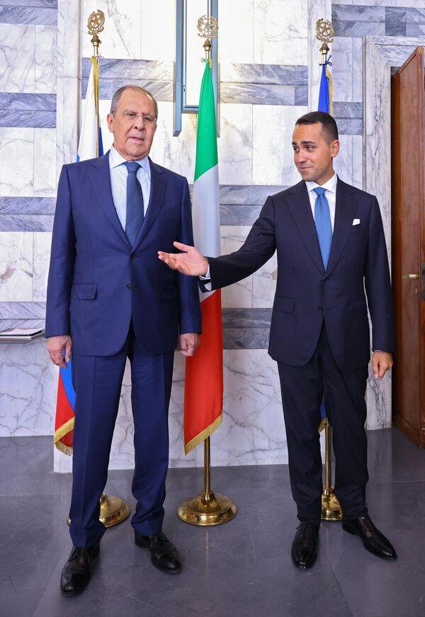 La Russia sarà pronta a valutare una risposta concreta dell'Italia sul ruolo del G20 nella crisi afghana, ha affermato Lavrov. - Sputnik Italia