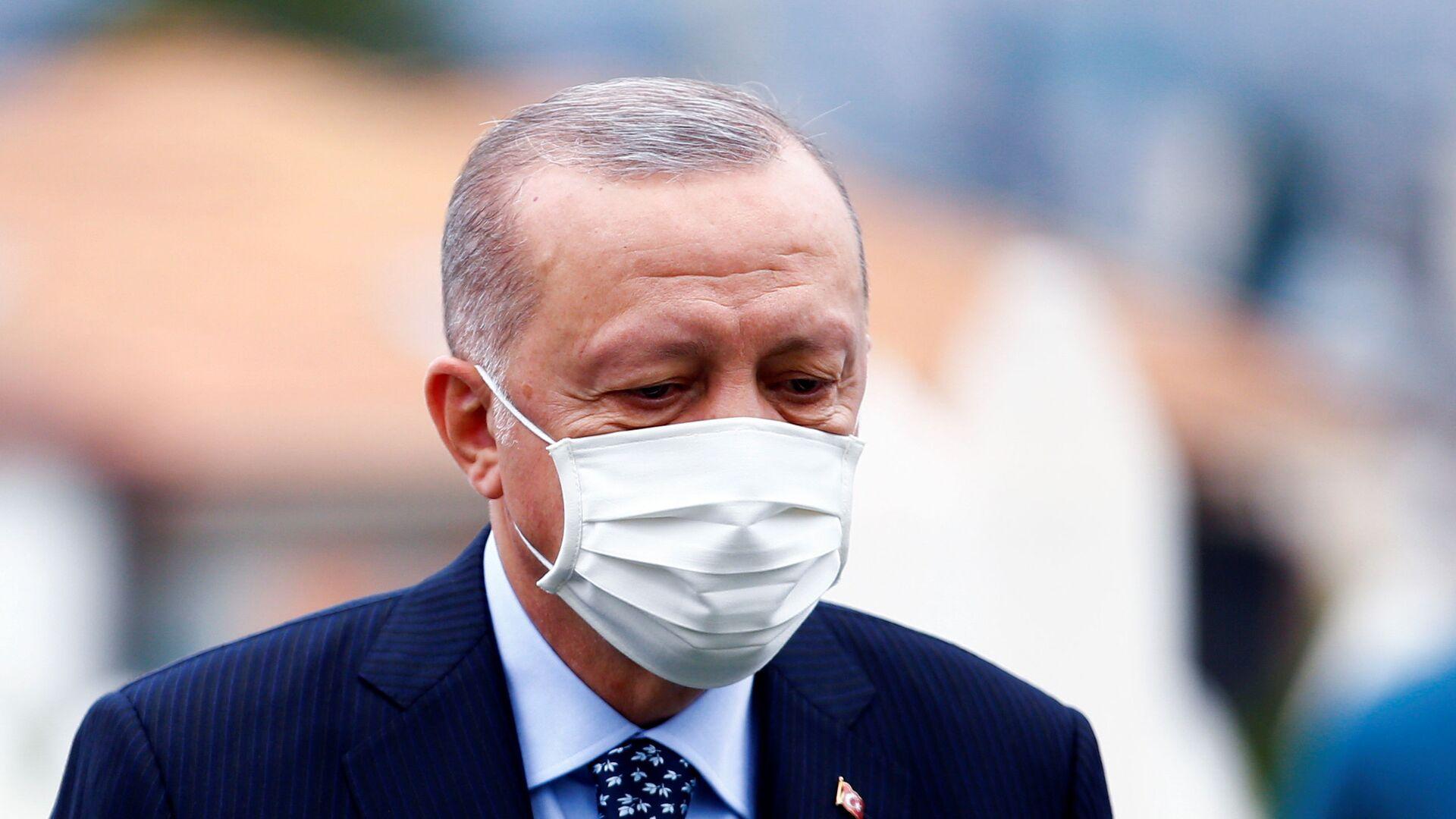 Il presidente turco Recep Tayyip Erdogan in visita a Sarajevo - Sputnik Italia, 1920, 29.08.2021