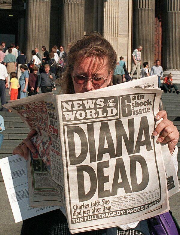 Diana, liberata dal groviglio di lamiere ancora viva, dopo i primi soccorsi prestati dal dottor Maillez, che si trovava per caso sul posto, venne trasportata da un'ambulanza all'ospedale Pitié-Salpêtrière. A causa delle gravi lesioni interne, venne dichiarata morta due ore più tardi. - Sputnik Italia