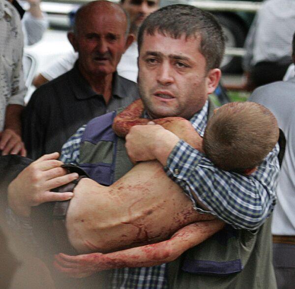 Sono stati uccisi anche 10 ufficiali del Servizio federale di sicurezza, due rappresentanti del ministero della Protezione civile e 15 agenti di polizia. - Sputnik Italia