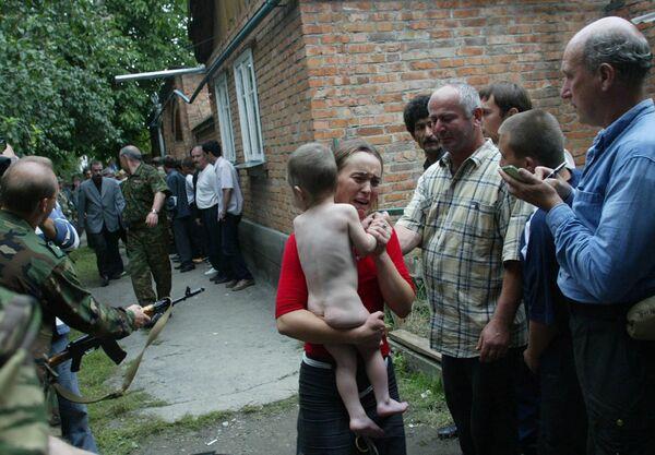L'irruzione delle forze russe, il 3 settembre, mise fine al sequestro. - Sputnik Italia