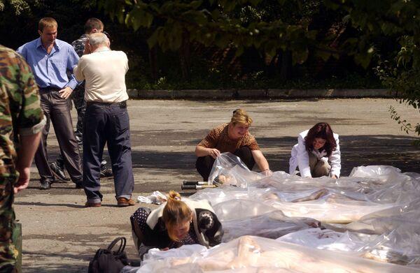 Il 3 settembre è stato proclamato, in Ossezia, giornata di lutto nazionale. - Sputnik Italia