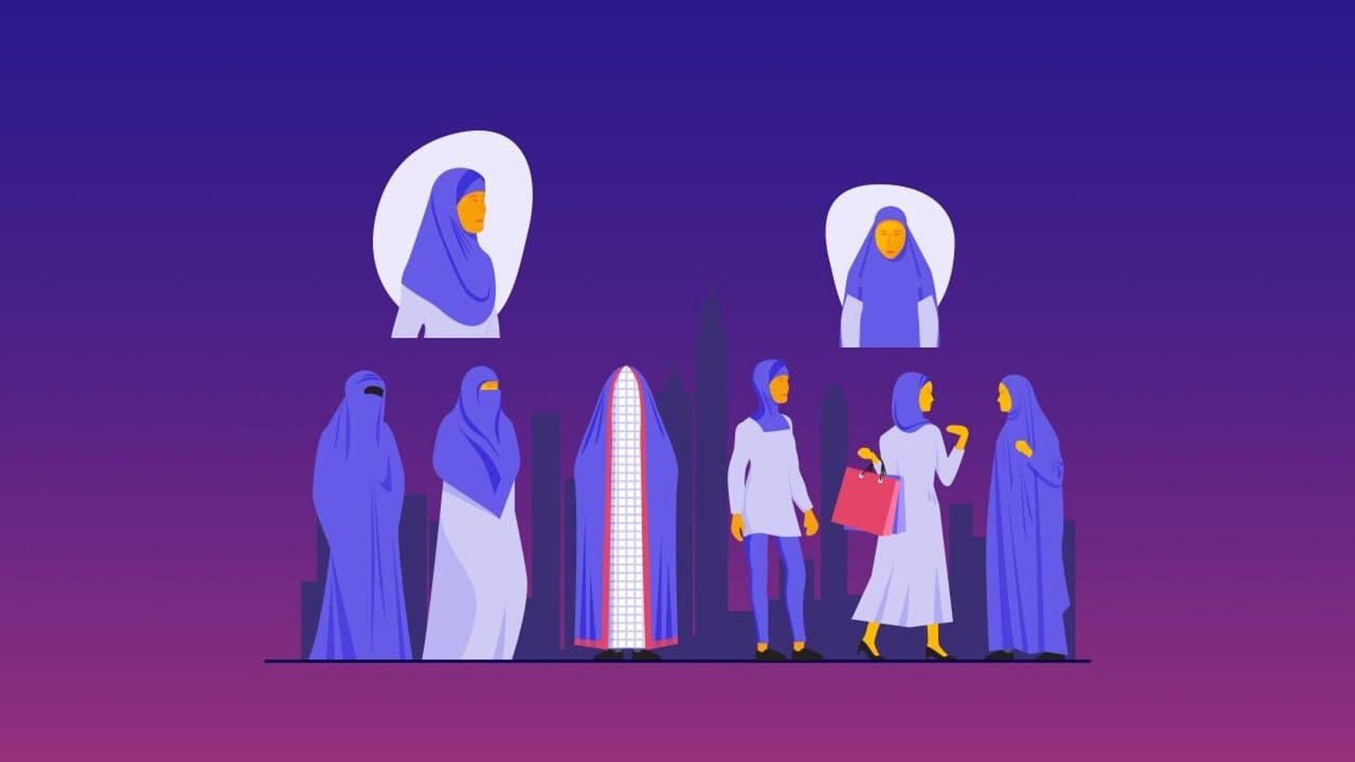 Hijab, Chador, Niqab, Burqa, che differenza c'è - Sputnik Italia, 1920, 01.09.2021