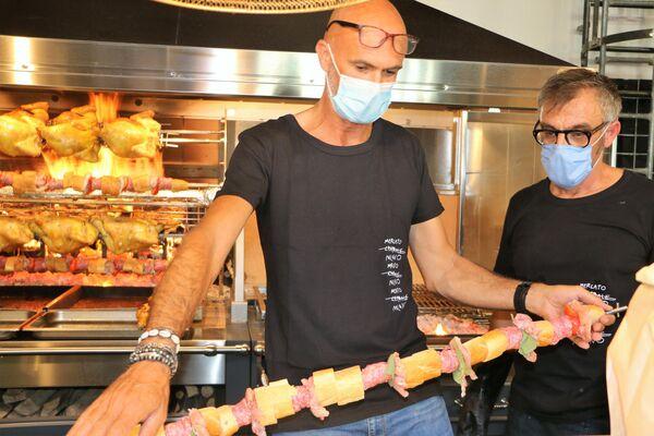 La carne proviene dalla Tenuta La Fratta - Sputnik Italia