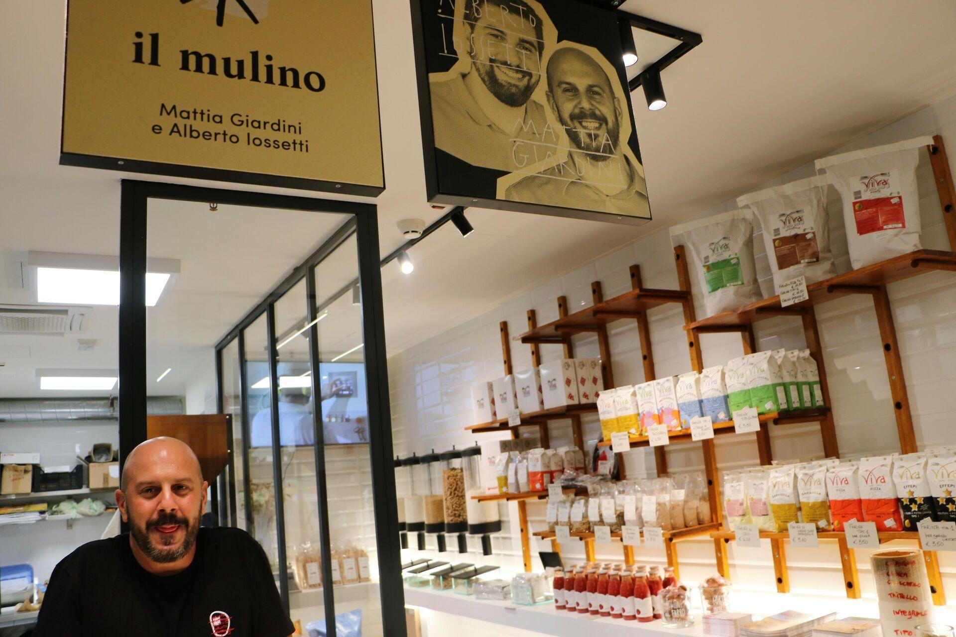 Il Mulino al Mercato Centrale a Milano - Sputnik Italia, 1920, 03.09.2021