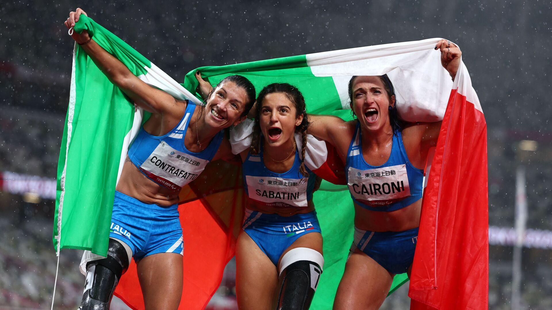 Ambra Sabatini, Martina Caironi e Monica Graziana Contrafatto - Sputnik Italia, 1920, 04.09.2021