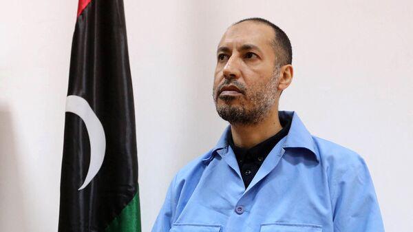 Сын Муаммара Каддафи Саади, 2016 год - Sputnik Italia
