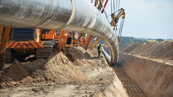 Строительство газопровода Северный поток-2 в Германии - Sputnik Italia