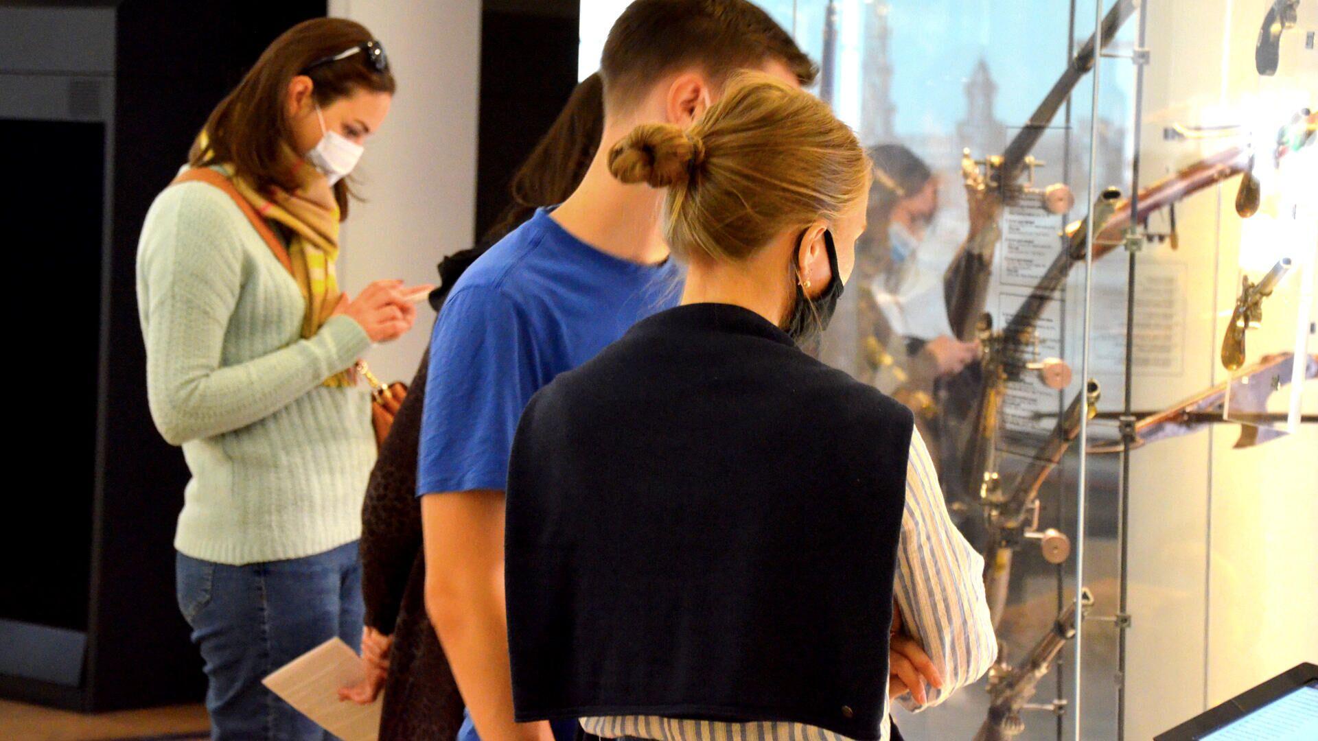 Coronavirus in Russia, Tula, museo della armi, settembre 2021 - Sputnik Italia, 1920, 08.09.2021