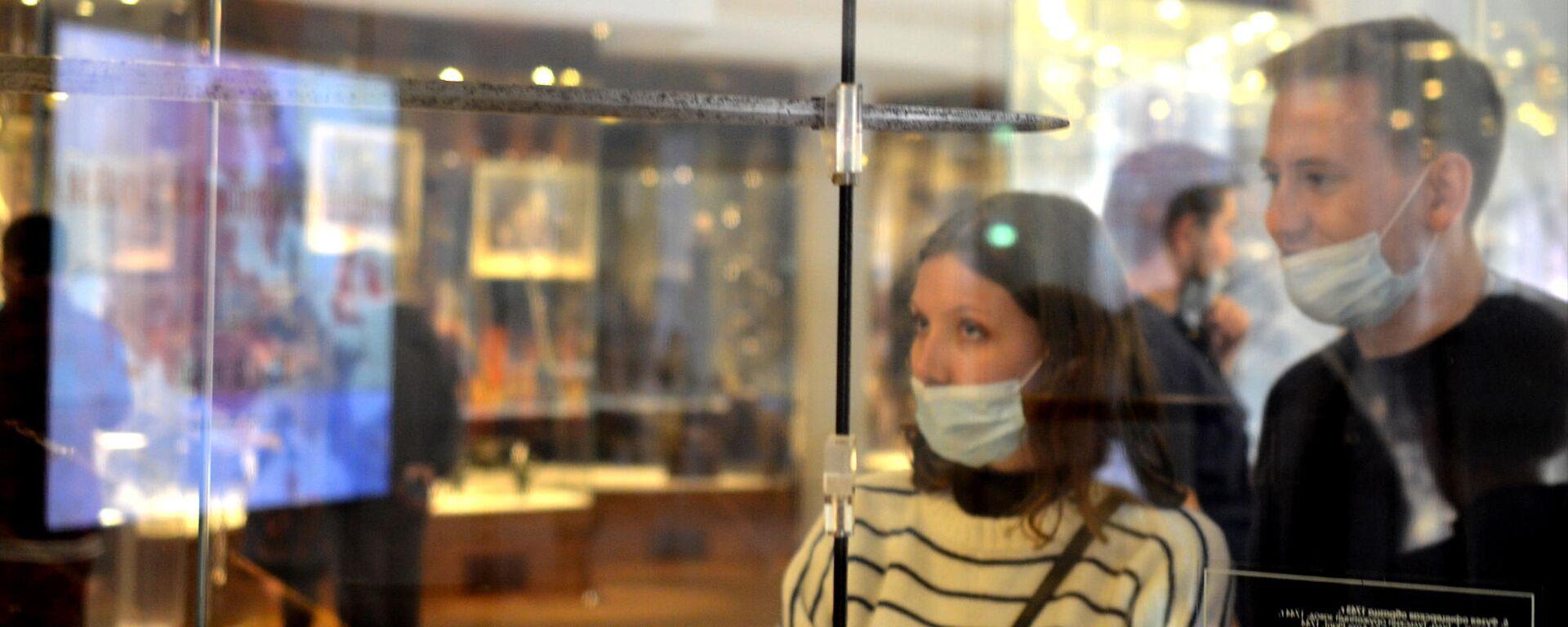 Coronavirus in Russia, Tula, museo della armi, settembre 2021 - Sputnik Italia, 1920, 14.09.2021