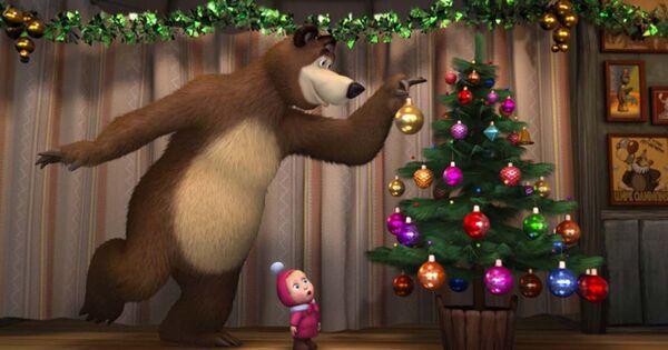 """""""Masha e Orso"""" è stato inserito nel Guinness dei primati come il cartone animato più visto su YouTube, Inoltre, lo show è al primo posto nella lista degli spettacoli per bambini in età prescolare più popolari al mondo, secondo lo studio di Parrot Analytics, pubblicato ad agosto 2021). - Sputnik Italia"""