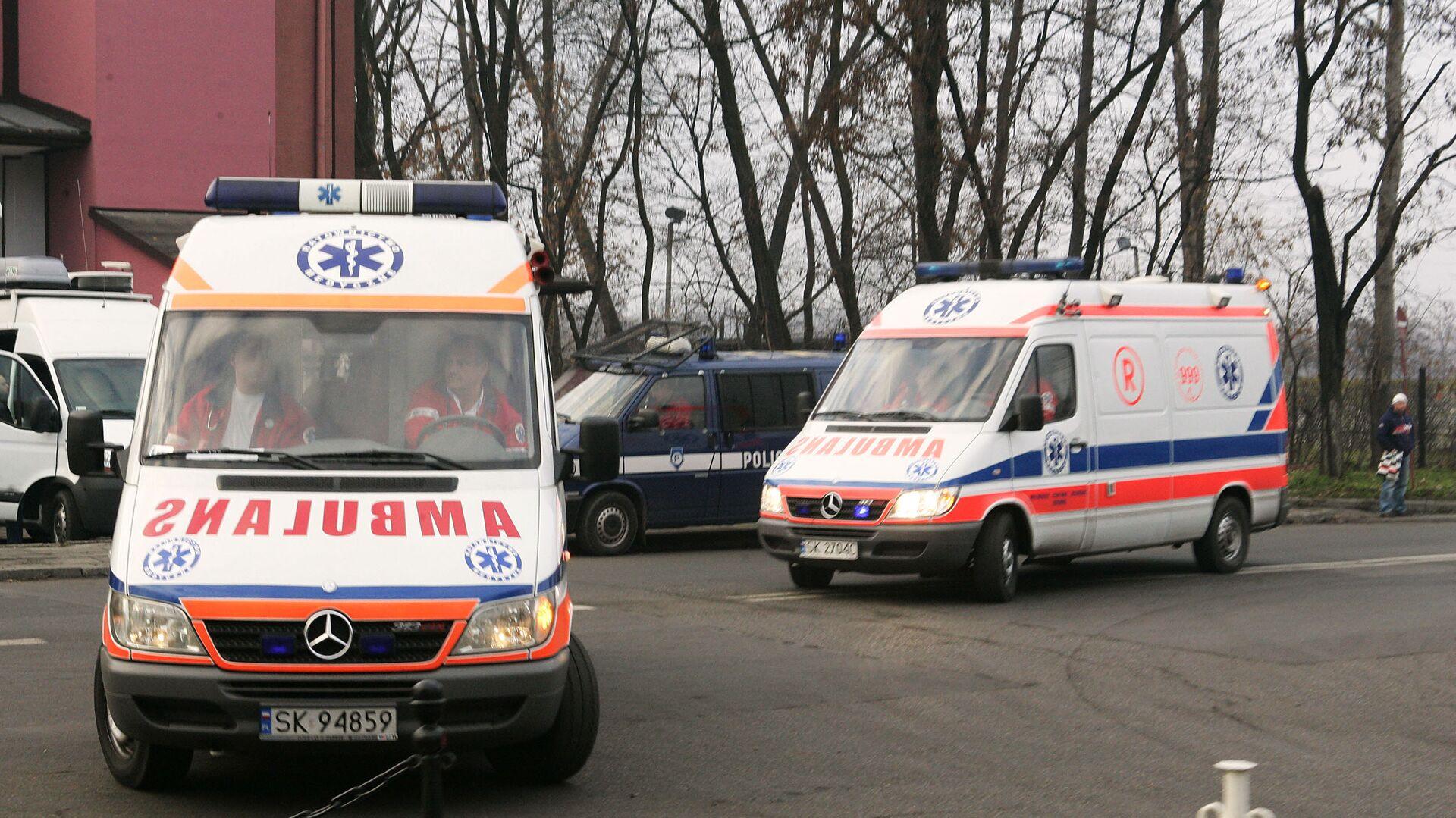 Ambulanze in Polonia (foto d'archivio) - Sputnik Italia, 1920, 08.09.2021